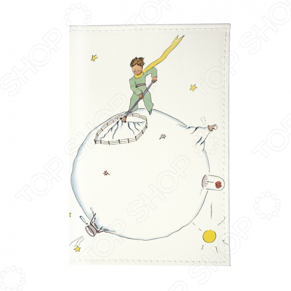 Обложка для автодокументов Mitya Veselkov «Принц в саду» обложка для автодокументов mitya veselkov маленький принц силуэт