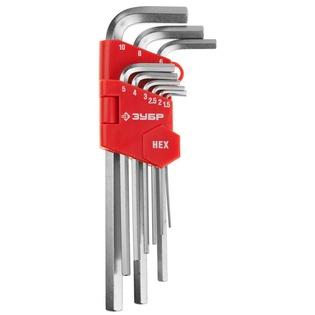 Купить Набор ключей имбусовых длинных Зубр «Мастер» 27460-2_z02