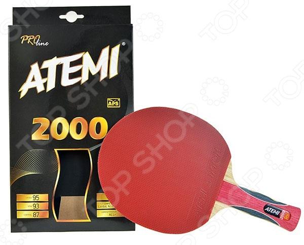 Ракетка для настольного тенниса ATEMI PRO 2000 CV Ракетка для настольного тенниса Atemi PRO 2000 CV /