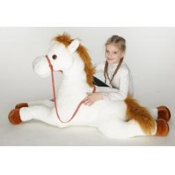 фото Мягкая игрушка Волшебный мир «Лошадь Сивка»