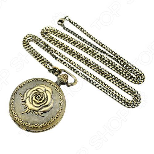 Кулон-часы Mitya Veselkov «Медальон с розой»Кулоны<br>Кулон-часы Mitya Veselkov Медальон с розой это стильный аксессуар, который выполняет не только функцию украшения, но и классических часов. Корпус изделия выполнен из прочного, но изящного сплава тонкой работы. Внутри корпуса вы увидите кварцевые часы с тремя стрелками, которые прослужат вам долгие годы. Кулон крепится на изящную цепочку панцирного плетения, с карабином, при необходимости вы можете заменить её и использовать кожаный шнурок. В такой вариации вы идеально дополните образ стим-панк, который снова становится популярен. Любая современная девушка будет в восторге от такого украшения, ведь эти часы сочетаются с любыми аксессуарами и хорошо смотрятся как с свитерами крупной вязки, так и с воздушными блузами. Этот кулон может стать идеальным подарком на праздник.<br>