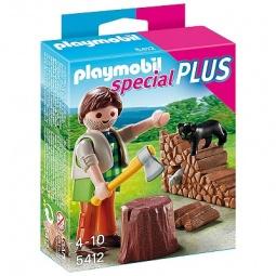 фото Набор фигурок к игровому конструктору Playmobil «Дополнение: Лесоруб»