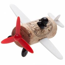 фото Декор для винной пробки Monkey Business «Самолет»