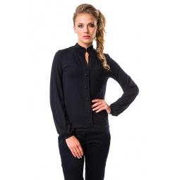 фото Блузка Mondigo 6017. Цвет: черный. Размер одежды: 44