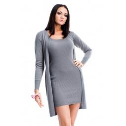 фото Жакет Mondigo 9847. Цвет: серый. Размер одежды: 46