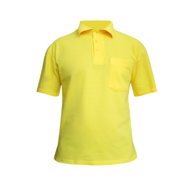 фото Поло мужское Dodogood М287. Цвет: желтый. Размер одежды: 48