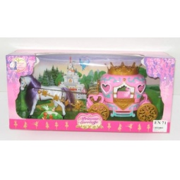 фото Набор игровой для девочки Shantou Gepai «Карета для принцессы»