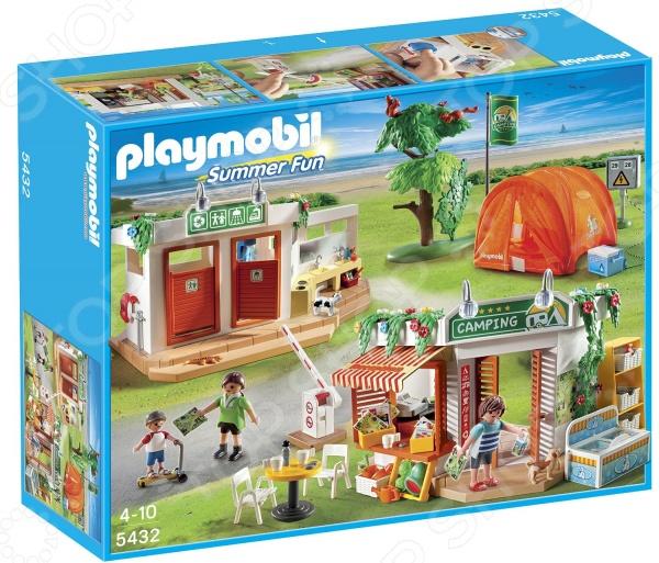 Набор игровой Playmobil «Каникулы: Большой кемпинг»