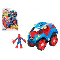 фото Фигурка игрушечная Hasbro Человек-Паук и автомобиль. В ассортименте