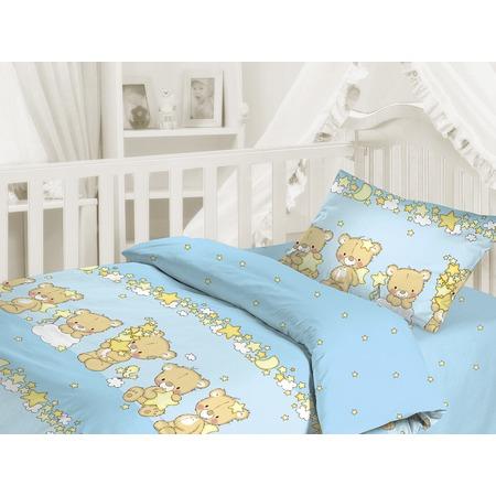Купить Детский комплект постельного белья Облачко «Мишки-малышки»