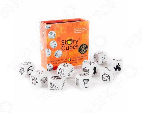 Игра настольная Rory's Story Cubes Original игра настольная обучающая rory s story cubes кубики историй космос