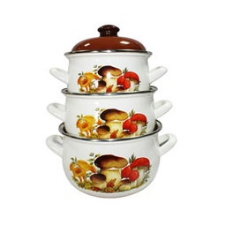 Купить Набор посуды Interos «Грибы»