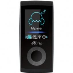 фото MP3-плеер Ritmix RF-4400. Цвет: черный. Встроенная память: 8 Гб
