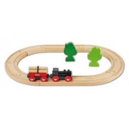 Купить Железная дорога с грузовым поездом Brio 33042