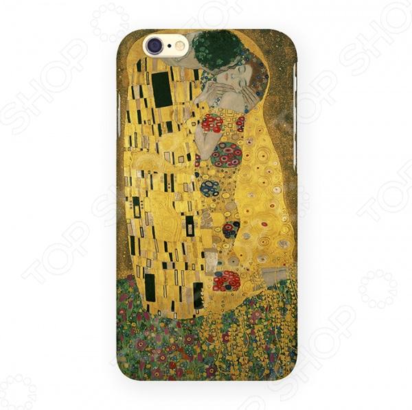 Чехол для iPhone 6 Mitya Veselkov «Поцелуй Климта» чехлол для ipad iphone mitya veselkov чехол для iphone 6 гагарин ip6 мitya 016