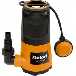 фото Насос погружной для чистой воды Defort DSP-400CN