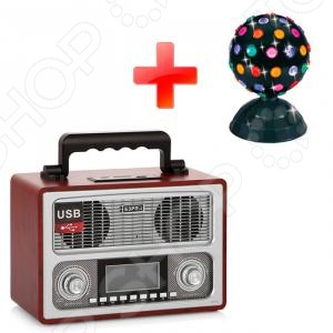 БЗРП РП-311+115 Радиоприемник СИГНАЛ БЗРП РП-311и диско-шар Funray Сигнал 115