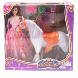 фото Набор игровой с куклой Shantou Gepai «Моя лошадка»