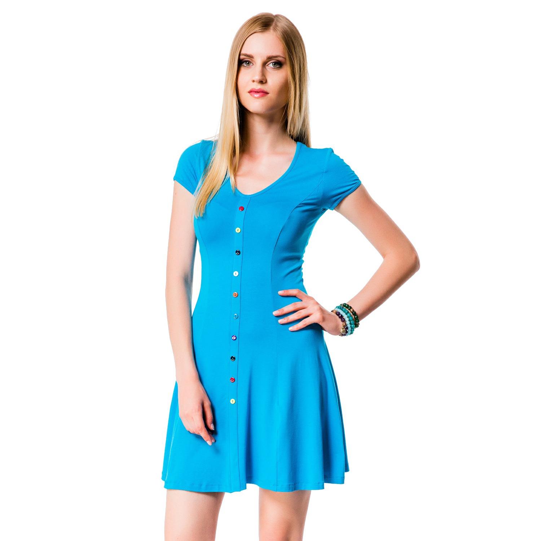 3fb0cccee21ec Платье Mondigo 7055. Цвет: бирюзовый. Размер одежды: 48 купить по ...