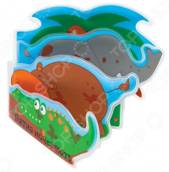 фото Книжка для ванной Мир детства «Выкупай зверят», Игрушки для ванной
