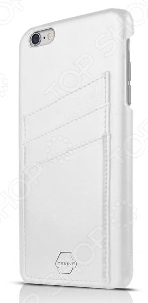 Чехол для iPhone 6 Plus ITSKINS CorsaЗащитные чехлы для iPhone<br>Чехол для iPhone 6 Plus ITSKINS Corsa надежно защитит ваш смартфон при повседневном использовании от грязи, пыли, царапин и потертостей. Представленная модель выполнена в виде защитной накладки, плотно прилегающей к боковым граням дорогостоящего девайса. Чехол изготовлен из качественных материалов и не скользит в руке, а лаконичный дизайн придает изделию стильный и модный вид. Чехол не блокирует какие-либо разъемы устройства, а потому не препятствует комфортному использованию. С наружной стороны расположены отделения для кредитных карт или визиток. ITSKINS Corsa придаст телефону уникальный вид и подчеркнет вашу индивидуальность.<br>