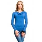 Фото Кофта Mondigo 1464. Цвет: джинсовый. Размер одежды: 46