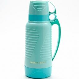 фото Термос и 2 чашки Mayer&Boch Wavy. Объем: 1,8 л. Цвет: зеленый