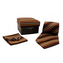 фото Набор подарочный: галстук, запонки, нагрудный платок Mondigo 43123