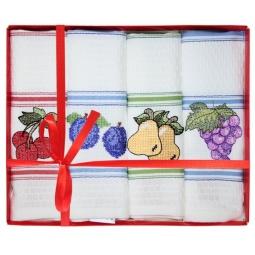 фото Комплект из 4-х полотенец подарочный BONITA «Вышивка»