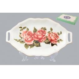 фото Блюдо для нарезки Elan Gallery «Райская роза»