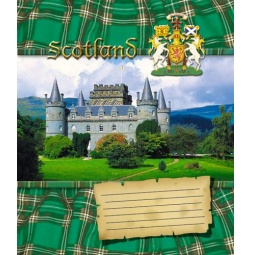 Купить Тетрадь в клетку Пересвет «Шотландия». В ассортименте