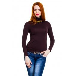 фото Водолазка Mondigo 046. Цвет: коричневый. Размер одежды: 46