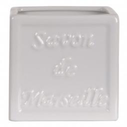 фото Стакан для ванной Spirella Savon De Marseille. Цвет: белый
