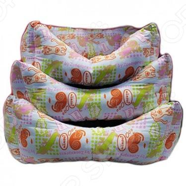 Лежак для животных ZOOExpress «Пухлик». В ассортименте