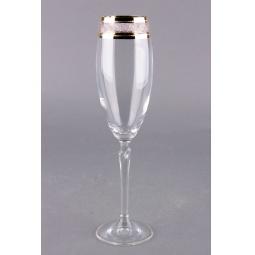 Купить Набор бокалов для шампанского Коралл 40768/Q7868/220 «Лиллу»
