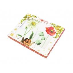 фото Комплект из 2-х махровых полотенец подарочный BONITA «Цветы»