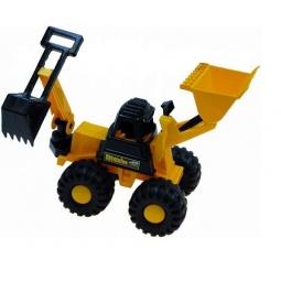фото Трактор игровой Karolina Toys «Ударник. Погрузчик-экскаватор»