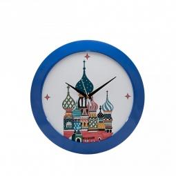 фото Часы настенные Mitya Veselkov «Храм в цвете»