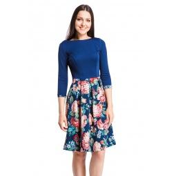 фото Платье Mondigo 5161. Цвет: темно-синий
