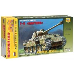 фото Подарочный набор сборной модели танка Звезда «Пантера»