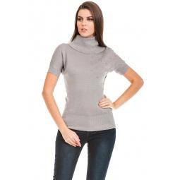 фото Свитер Mondigo 9745. Цвет: серый. Размер одежды: 42