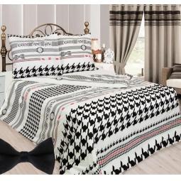фото Комплект постельного белья Сова и Жаворонок «Мистер Икс». Евро