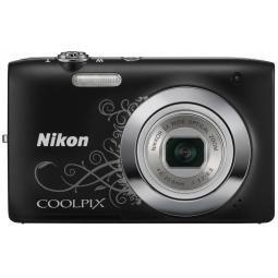 фото Фотокамера цифровая Nikon CoolPix S2600. Цвет: черный. Рисунок: есть