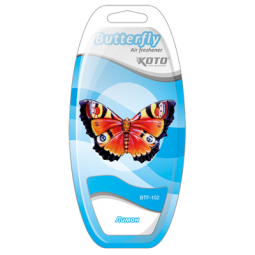 фото Ароматизатор на дефлектор KOTO Butterfly. Вид: Лимон