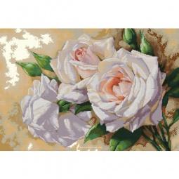 фото Набор для создания мозаичной картины Белоснежка «Розовое трио»