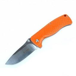 фото Нож туристический Ganzo G722. Цвет: оранжевый