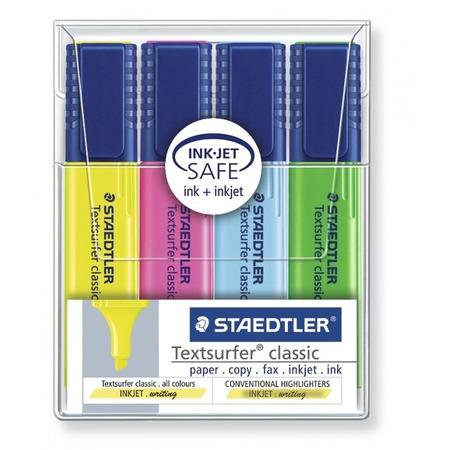 Купить Набор маркеров-текстовыделителей Staedtler 364WP404