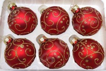 Набор новогодних шаров Новогодняя сказка 971960