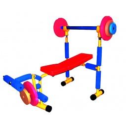 Купить Тренажер детский Baby Gym «Скамья под штангу»