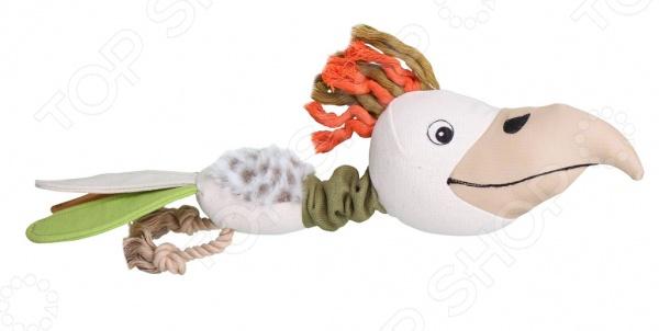Игрушка для собак DEZZIE «Попугай» 5640009 игрушка для собак dezzie курица 5620108
